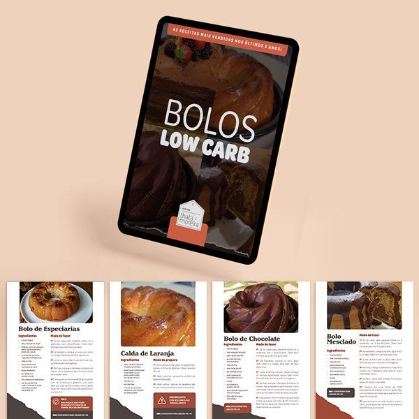 Imagem principal do produto Bolos Low Carb - Feito por Thata Moreira