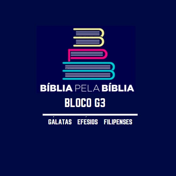 Imagem principal do produto BLOCO G3 - A BÍBLIA PELA BÍBLIA