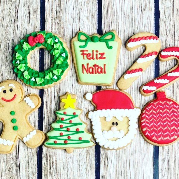 Imagem principal do produto curso de biscoitos de Natal