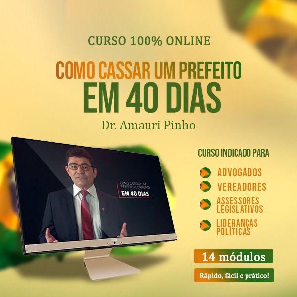 Imagem principal do produto COMO CASSAR UM PREFEITO EM 40 DIAS