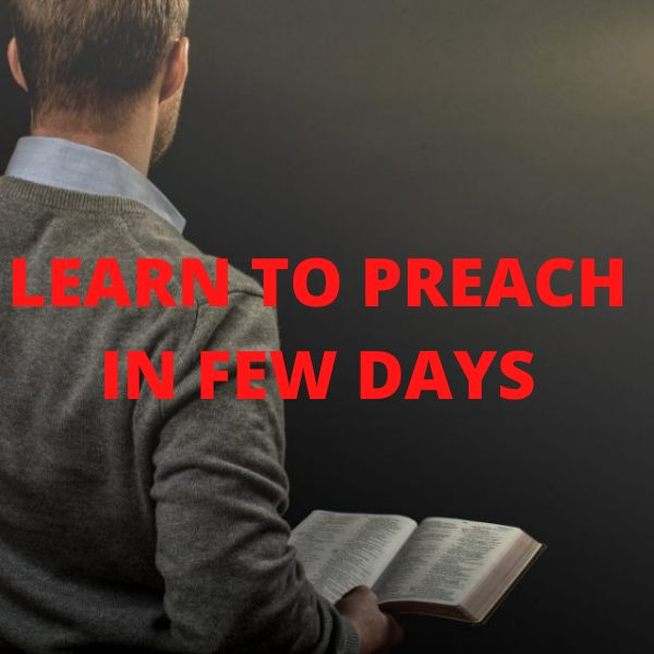 Imagem principal do produto LEARN TO PREACH IN FEW DAYS + THE SECRET OF ANGELS
