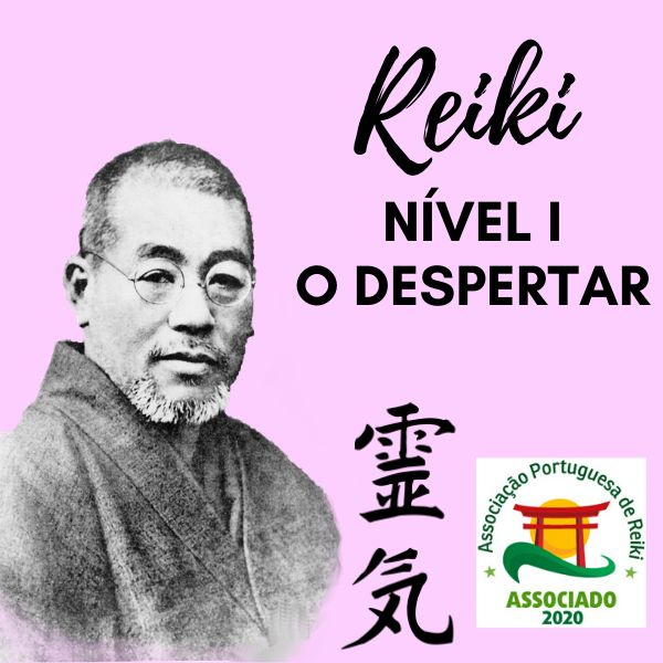Imagem principal do produto Curso Reiki Tradicional Nível I - O Despertar