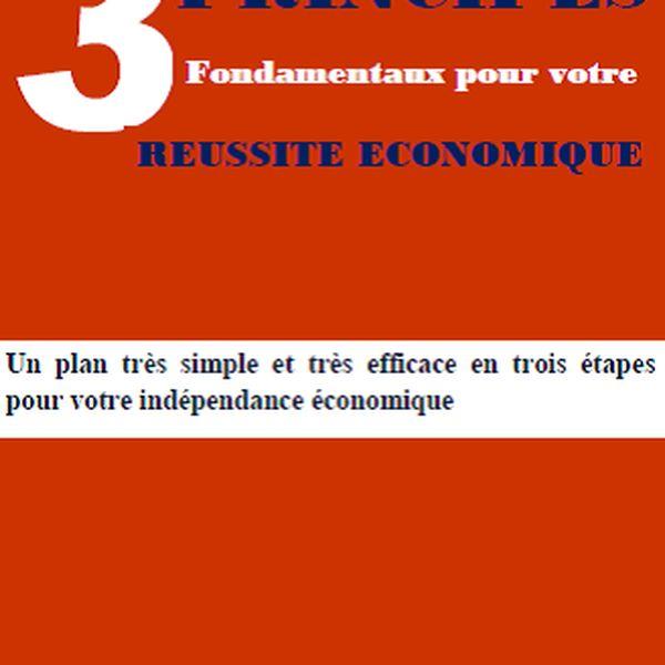 Imagem principal do produto 3 principes indispensables pour la votre reussite economique