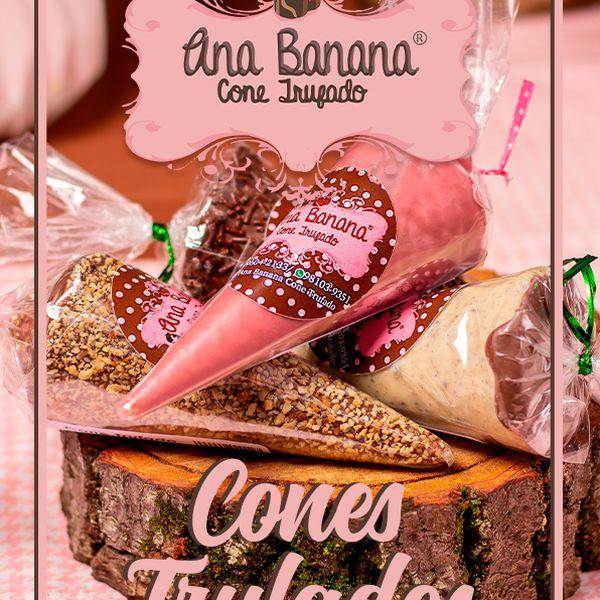 Imagem principal do produto Apostila de Cones Trufados Ana Banana