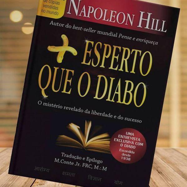 Imagem principal do produto ÁUDIO LIVRO: MAIS ESPERTO QUE O DIABO. ( NAPOLEON HILL )