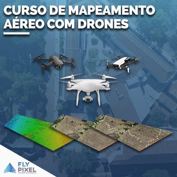 Imagem principal do produto Mapeamento Aéreo e Topografia com Drones