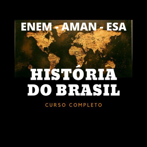 Imagem principal do produto ENEM: HISTÓRIA DO BRASIL Curso JB