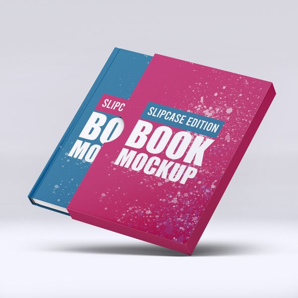 Imagem principal do produto Capa e-Book Magnético - Book Cover Mockup #2 - PSD 100% Editável