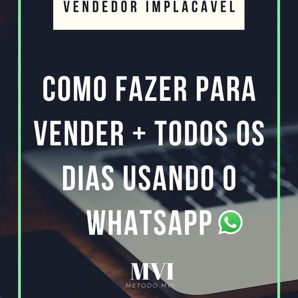 Imagem principal do produto VENDEDOR IMPLACÁVEL