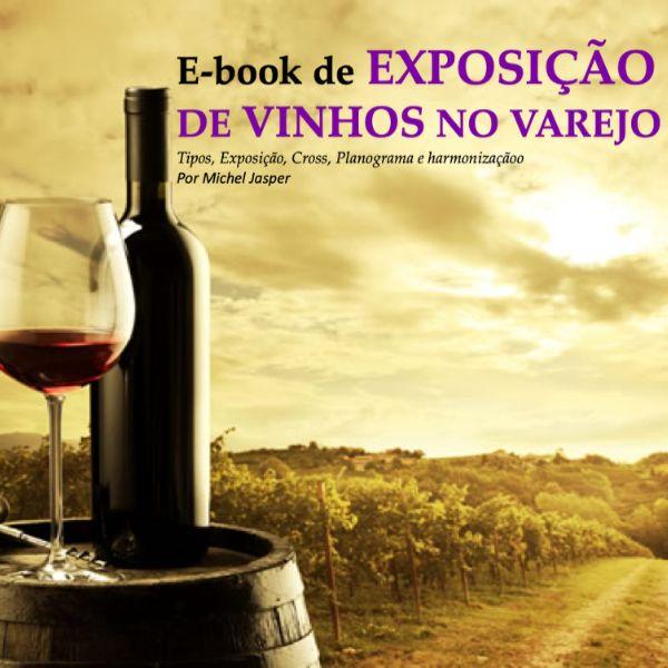 Imagem principal do produto E-book Exposição de vinhos no Varejo