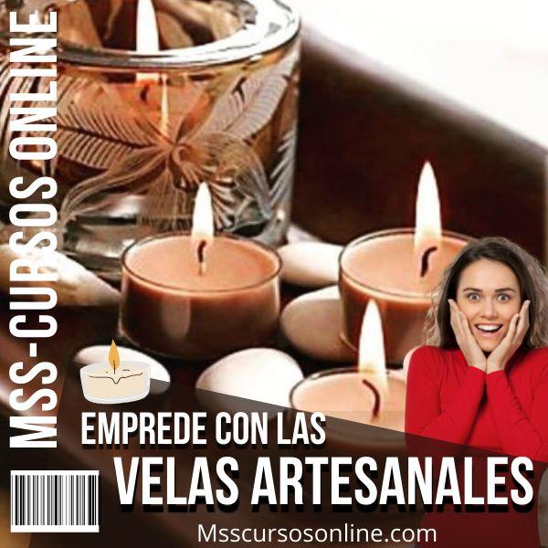 Imagem principal do produto Emprende con las Velas Artesanales