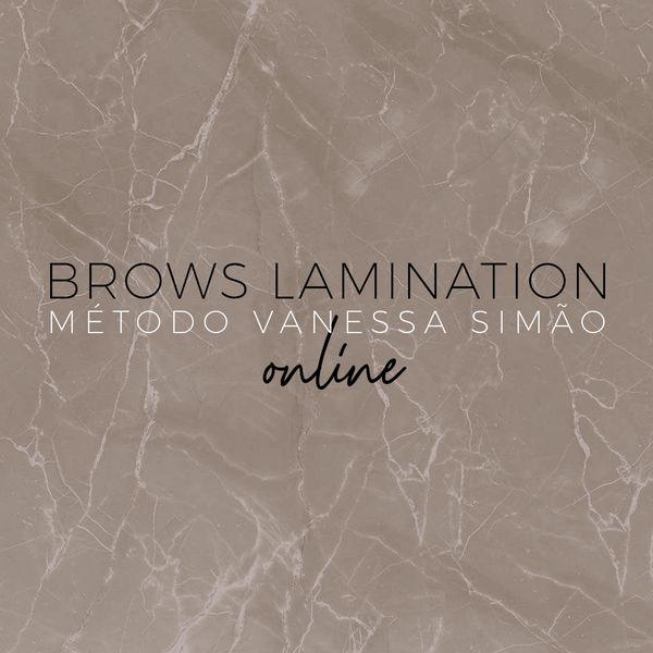 Imagem principal do produto BROWS LAMINATION - Método Vanessa Simão