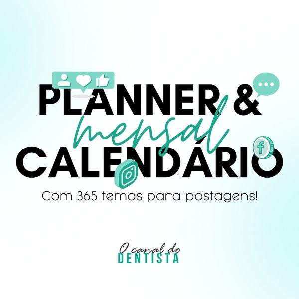 Imagem principal do produto Calendário & Planner 365 dias para dentistas