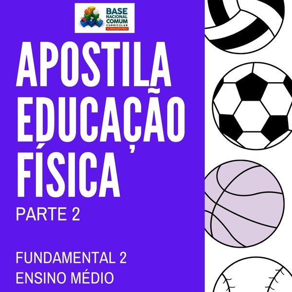 Imagem principal do produto APOSTILA DE EDUCAÇÃO FÍSICA - PARTE 2