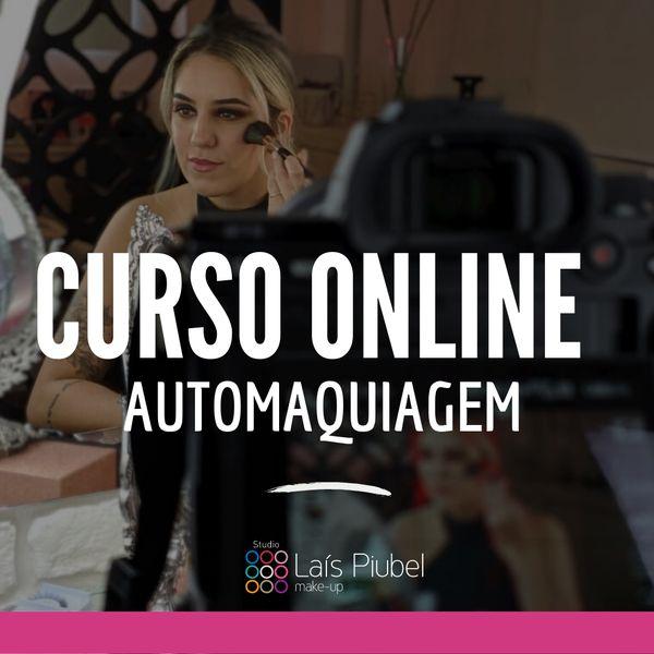 Imagem principal do produto Curso Online de Automaquiagem com Laís Piubel