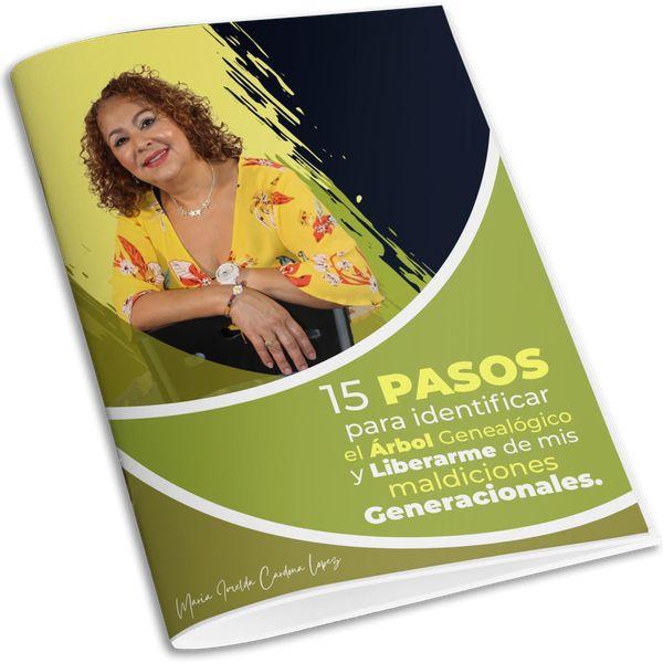 Imagem principal do produto 15 PASOS PARA IDENTIFICAR EL ARBOL GENEALOGICO Y LIBERARME DE MIS MALDICIONES GENERACIONALES.