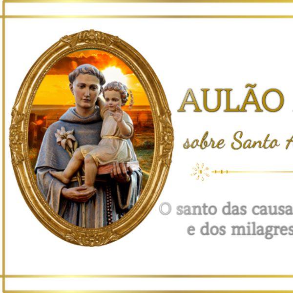 """Imagem principal do produto A vida de Santo Antônio de Pádua – Muito mais que um """"santo casamenteiro"""