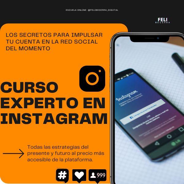 Imagem principal do produto CURSO EXPERTO EN INSTAGRAM