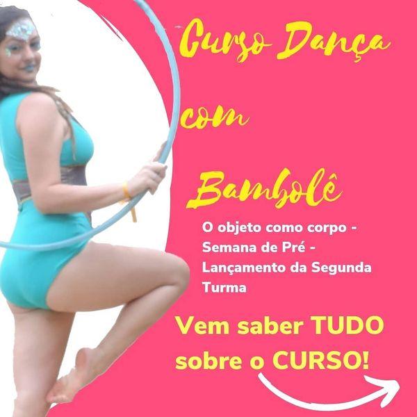 Imagem principal do produto Curso de Dança com Bambolê - O objeto como corpo