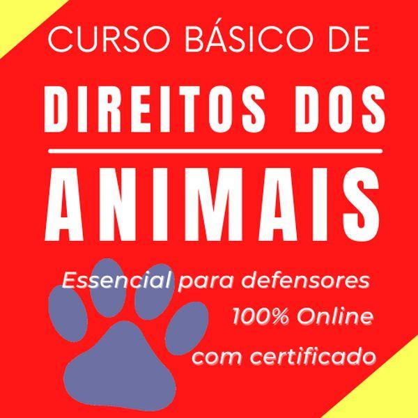 Imagem principal do produto DIREITO DOS ANIMAIS | CURSO BÁSICO | Essencial para defensores