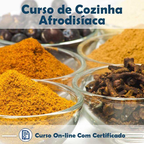 Imagem principal do produto Curso Cozinha Afrodisíaca