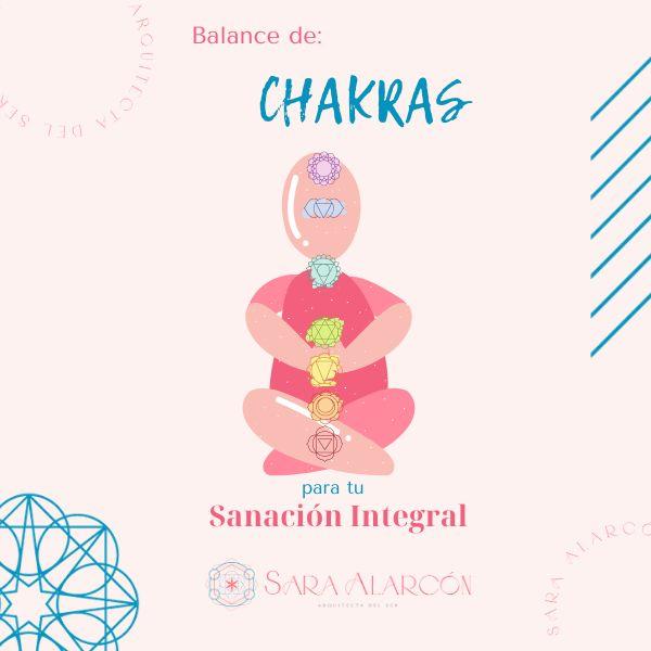 Imagem principal do produto Balance de Chakras para tu Sanación Integral