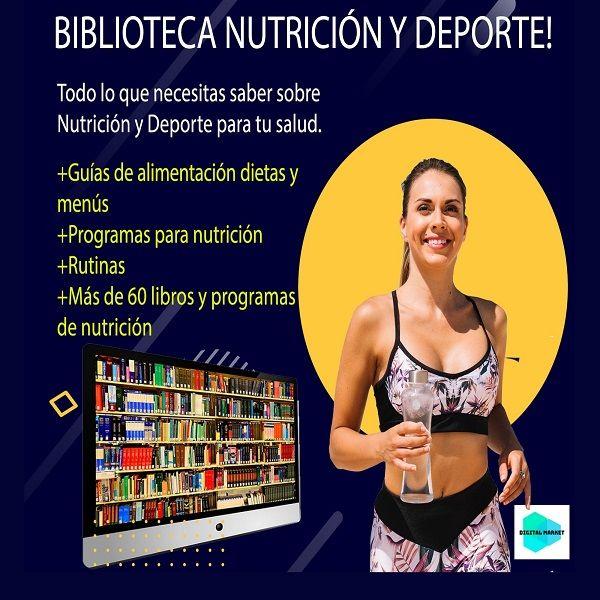 Imagem principal do produto Biblioteca de Nutrición y Deporte