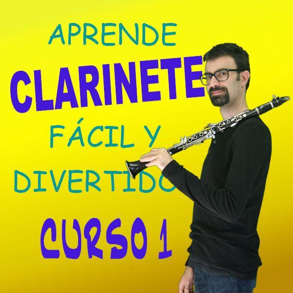 Imagem principal do produto Aprende Clarinete desde 0 ¡Fácil y Divertido! Curso 1