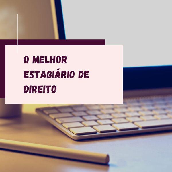 Imagem principal do produto O MELHOR ESTAGIÁRIO DE DIREITO