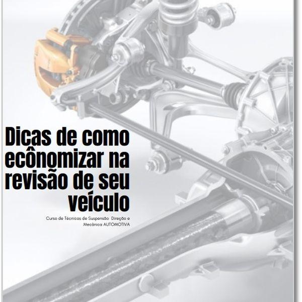 Imagem principal do produto Dicas de como ecônomizar na revisão de seu veículo