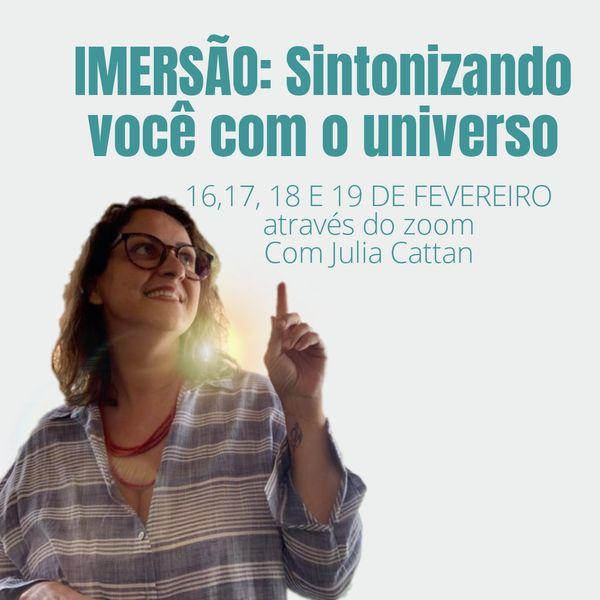 Imagem principal do produto Imersão: Sintonizando você com o universo