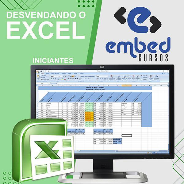 Imagem principal do produto Desvendando o Excel