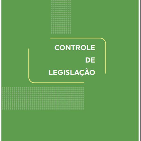 Imagem principal do produto Controle de Legislação