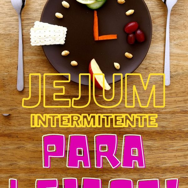 Imagem principal do produto Jejum intermitente Para Leigos