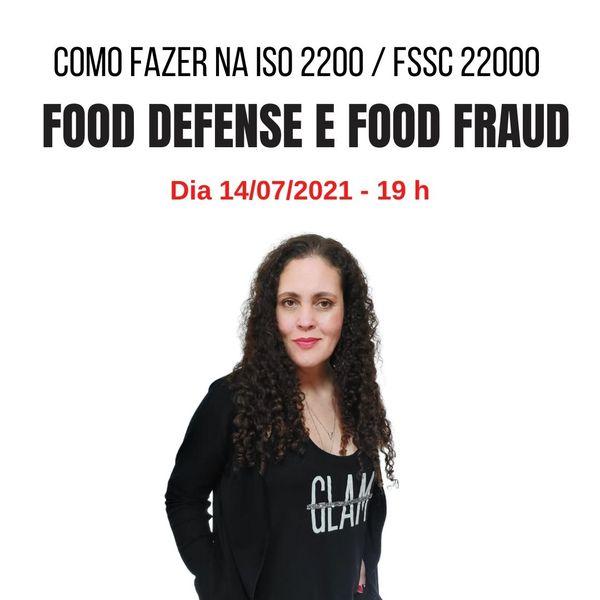 Imagem principal do produto Food defense e food fraud: como fazer na ISO 22000 e FSSC 22000