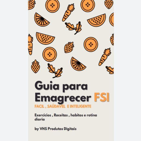 Imagem principal do produto Guia para Emagrecer FSI