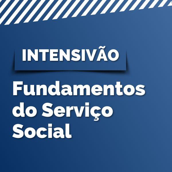 Imagem principal do produto Intensivão de Fundamentos do Serviço Social