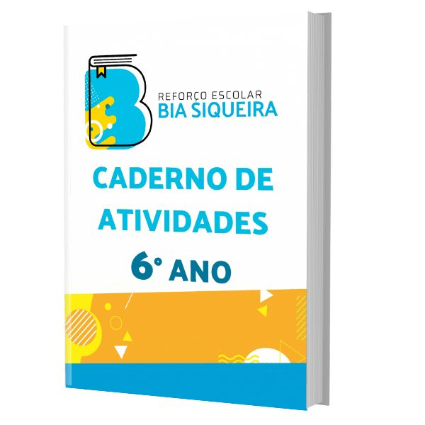 Imagem principal do produto 6º Ano - Caderno de Atividades com 300 Atividades de Reforço Escolar