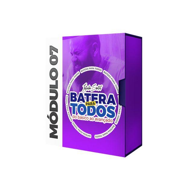Imagem principal do produto CURSO BATERIA PARA TODOS - MÓDULO 07 - RITMOS BRASILEIROS - JEFINHO SANTOS
