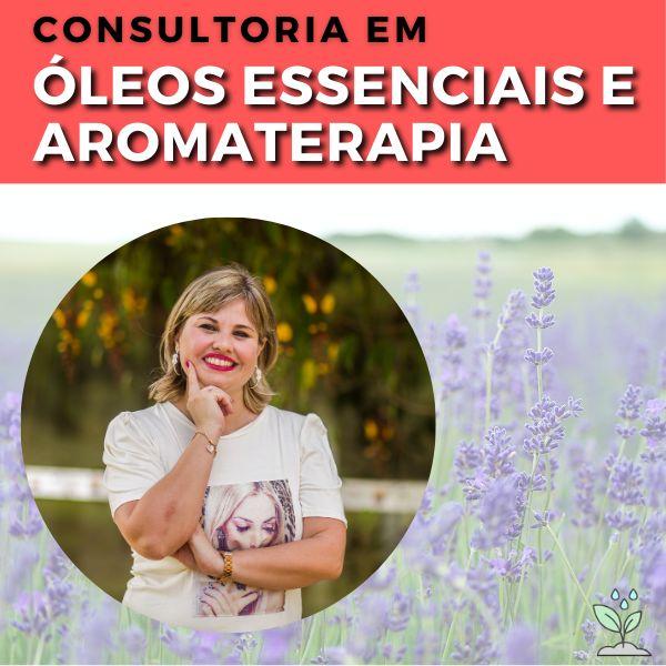Imagem principal do produto Consultoria em Óleos Essenciais e Aromaterapia