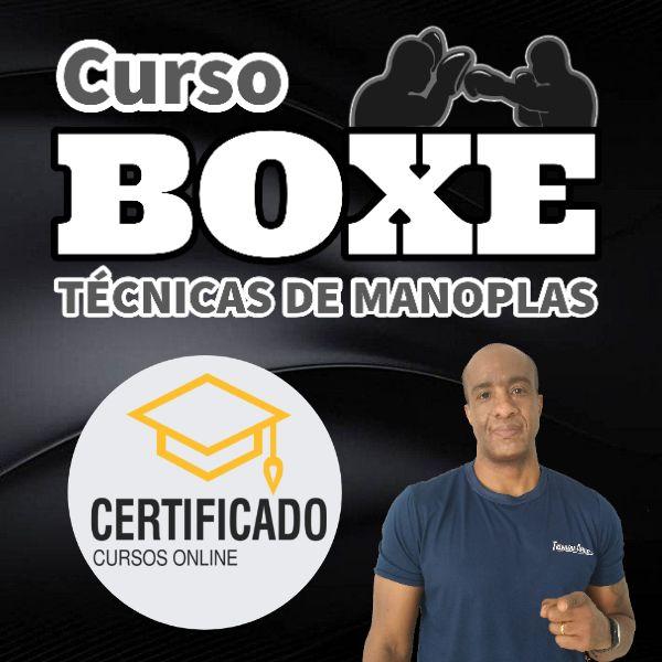 Imagem principal do produto Curso de Boxe Técnicas de Manoplas com Certificação