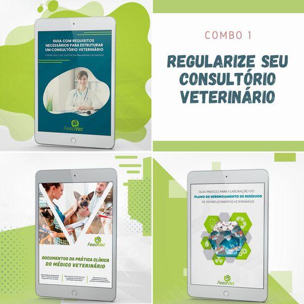 Imagem principal do produto Combo 1 - Regularize seu consultório veterinário!