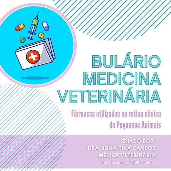 Imagem principal do produto Bulário - Pequenos Animais