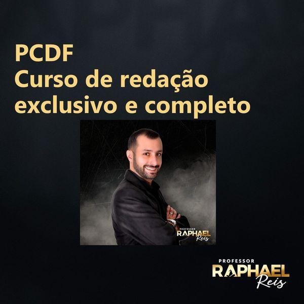 Imagem principal do produto Curso de Redação PCDF