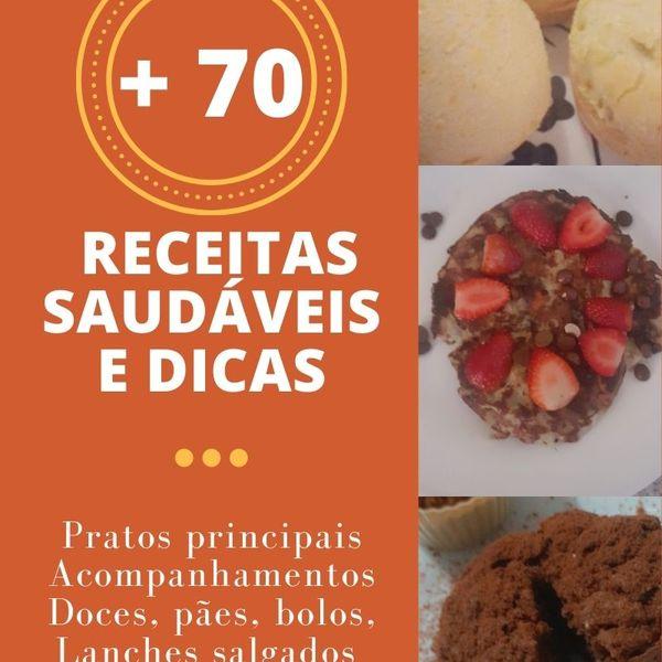 Imagem principal do produto E-book de receitas saudáveis
