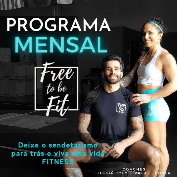Imagem principal do produto Free To Be Fit - Treinamento para a Vida - Mês JULHO
