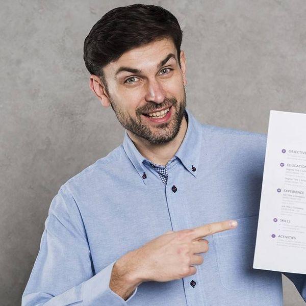Imagem principal do produto CV para conseguir la entrevista