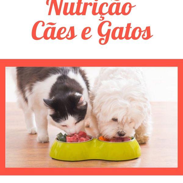 Imagem principal do produto E-book Nutrição de Cães e Gatos
