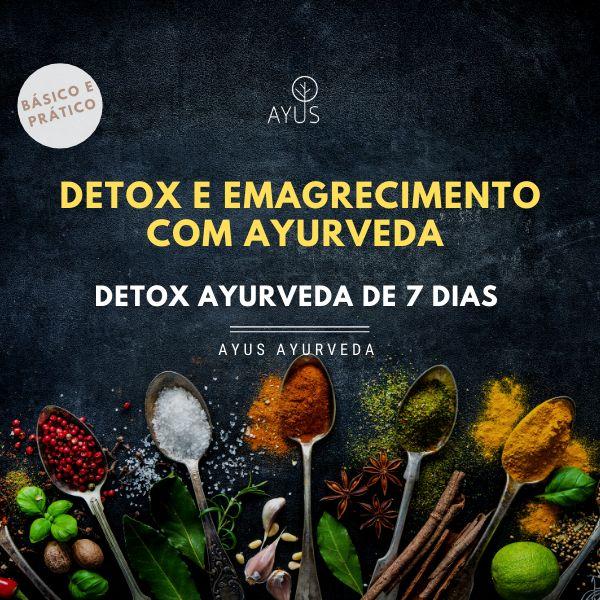 Imagem principal do produto Detox Ayurveda de 7 dias - RECONECTAR - emagrecer e desintoxicar com Ayurveda