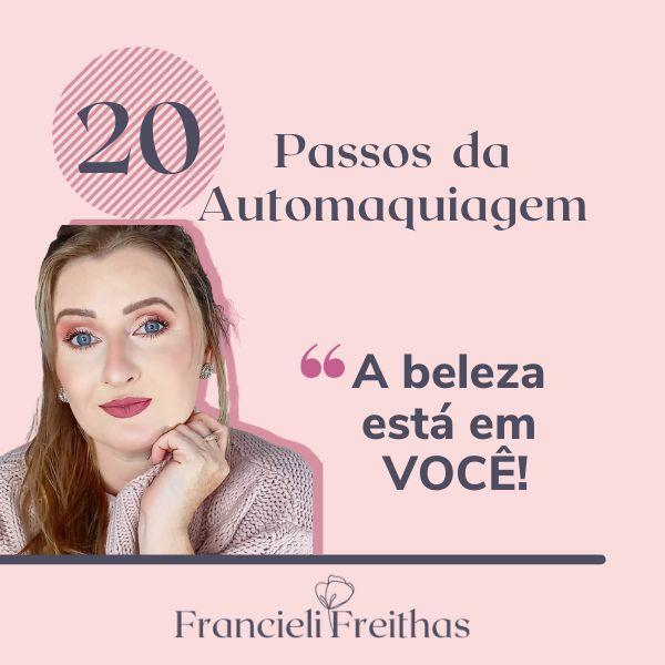 Imagem principal do produto 20 Passos da Automaquiagem- Curso Online